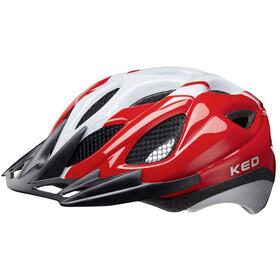 KED Tronus Helm red/pearl
